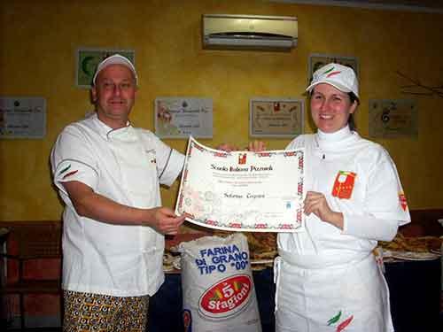 Sabrina Tognini // Corso Pizzaioli Gennaio 2011