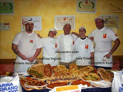 I partecipanti del Corso per Pizzaioli di Gennaio 2011 // Corso Pizzaioli Gennaio 2011