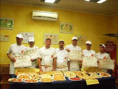 I partecipanti del Corso per Pizzaioli di Aprile 2010 // Corso Pizzaioli Aprile / Novembre 2010