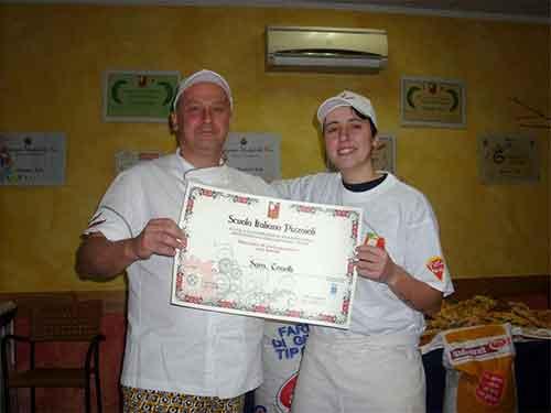 Sara Tonelli // Corso Pizzaioli Gennaio 2011