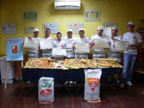 I partecipanti del Corso per Pizzaioli di Novembre 2010 // Corso Pizzaioli Aprile / Novembre 2010